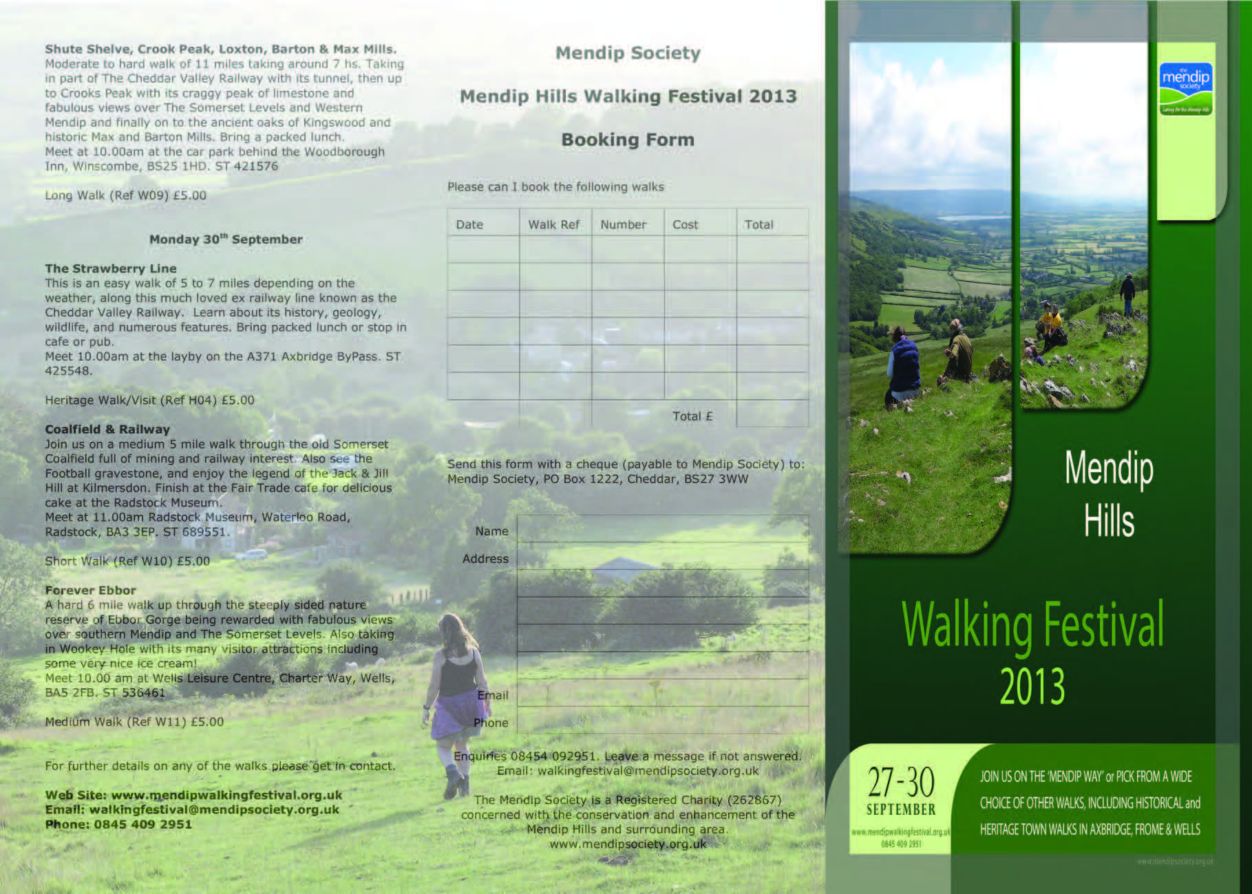 WalkingFestival2013Leaflet Page 1